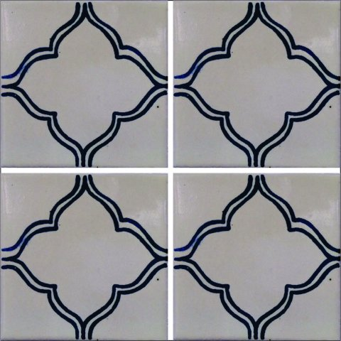 New Items / Talavera Tile 4x4 inch (90 pieces) - Style AZ012 / These beatiful handpainted Mexican Talavera tiles will give a colorful decorative touch to your bathrooms, vanities, window surrounds, fireplaces and more.