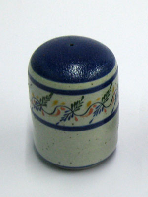 MEXICAN DINNERWARE - TROPICAL / 'Tropical' Pepper shaker