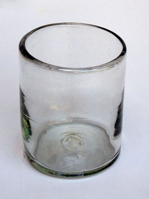 Clear blown glass tumblers (set of 6)
