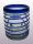 'Cobalt Blue Spiral' tumblers (set of 6)